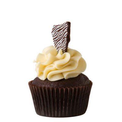Cupcake Le Choco vanille de Coquelikot