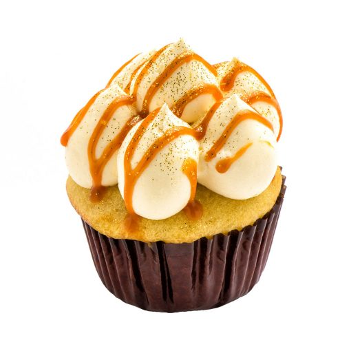 Cupcake Le Caramel au beurre de Coquelikot