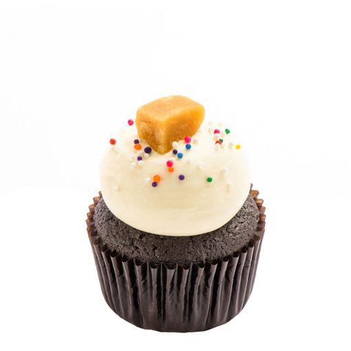 Cupcake Le Sucre à la crème de Coquelikot