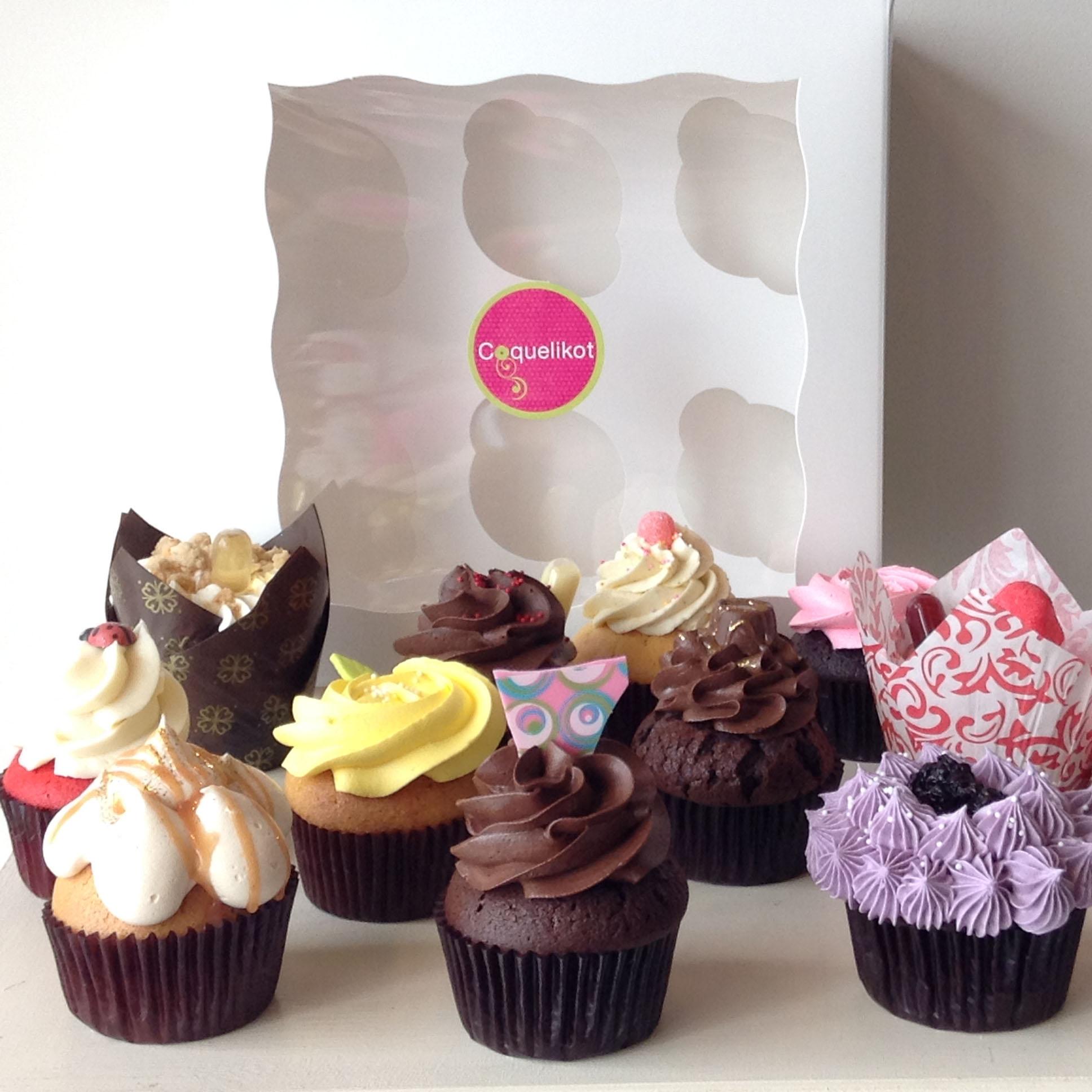 Boîte de 6 cupcakes