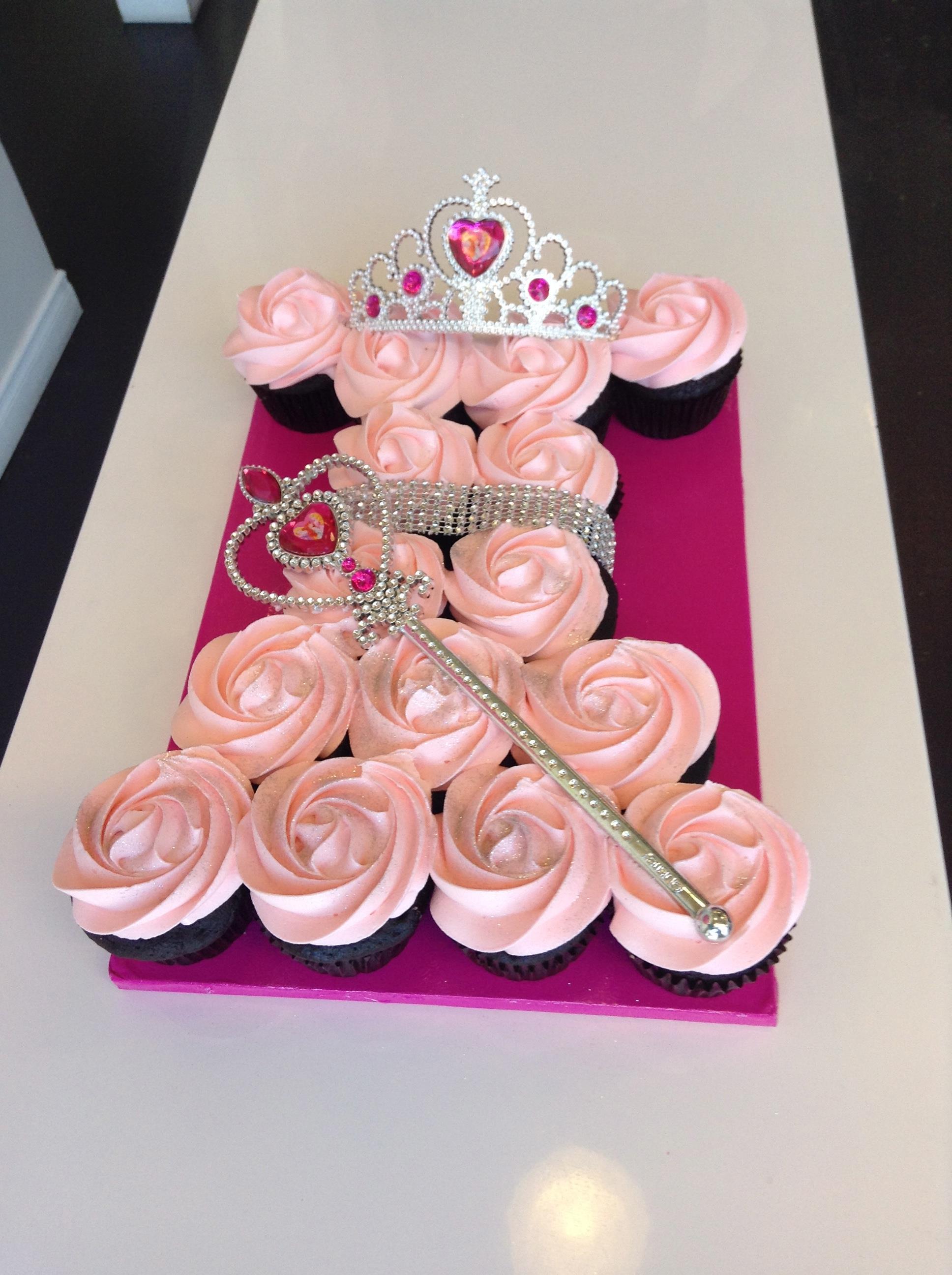 Cupcake robe de princesse