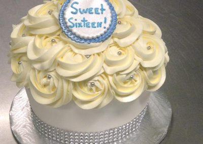 Cupcake géant pour anniversaire