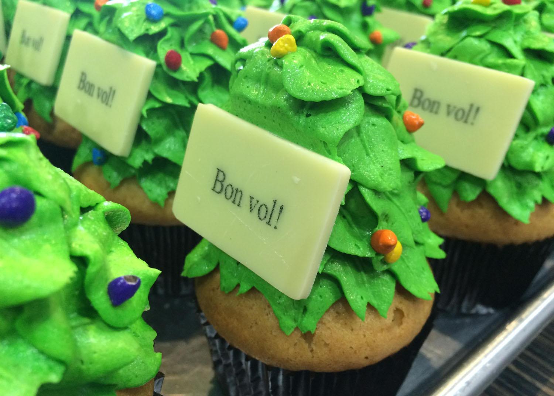Cupcake corporatif
