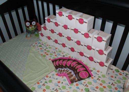 Cupcake et shower de bébé