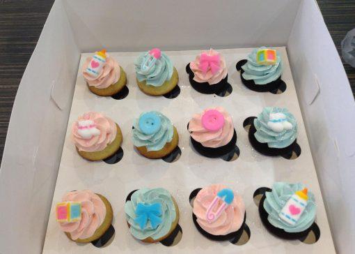 Minis cupcake pour shower