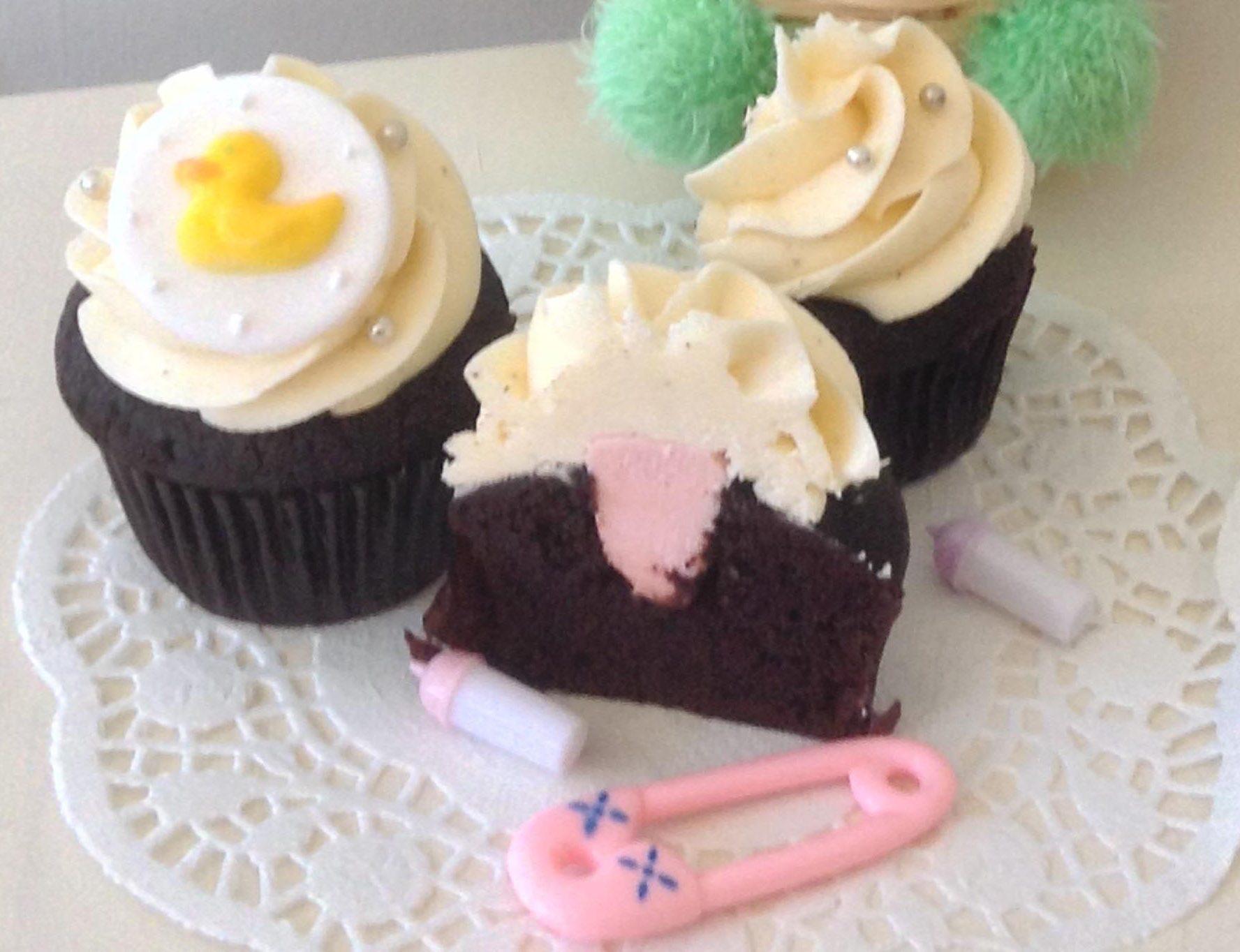 Petit gâteau annonce du sexe du bébé